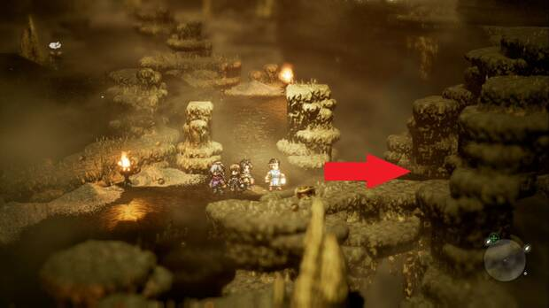 Octopath Traveler, Mercado negro, Capítulo 3, Therion