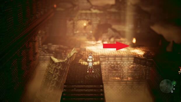 Octopath Traveler, Capítulo 4, H'aanit, Ruinas de Arenas Lúgubres