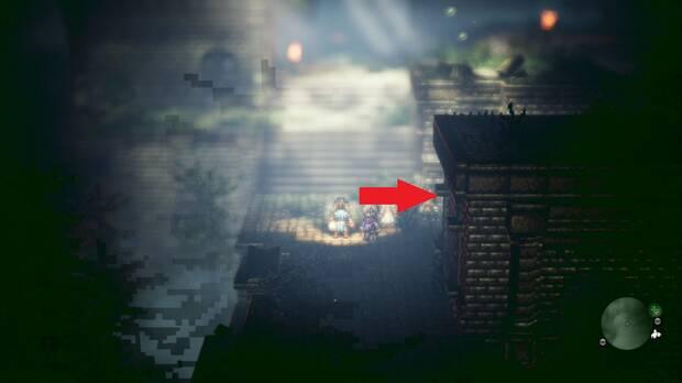 Octopath Traveler, Capítulo 4, Cyrus, Ruinas de Eld
