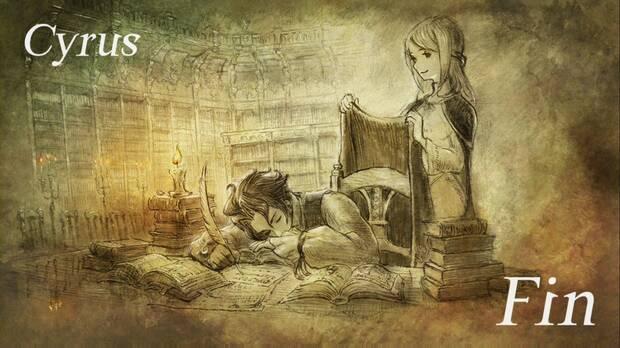 Octopath Traveler, Capítulo 4, Cyrus, Fin