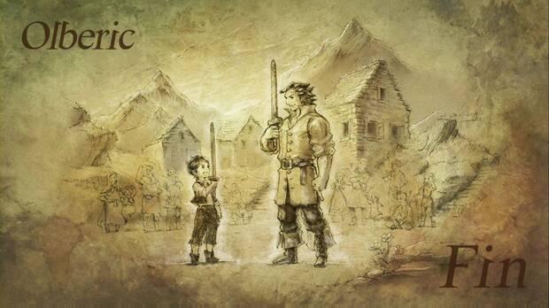 Octopath Traveler, Capítulo 4, Olberic, Fin