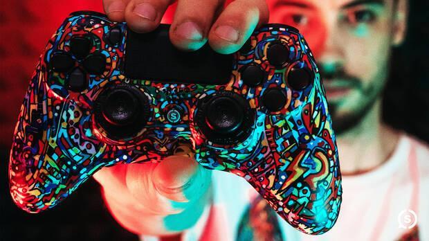 SCUF Impact Pow3r Edition, el mando más artístico para PS4, PC y móvil Imagen 3