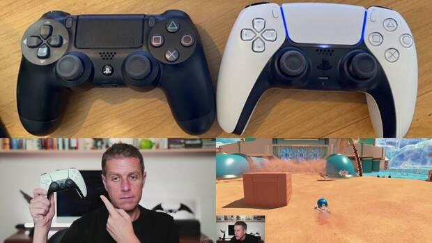 Geoff Keighley con el DualSense de PS5 en Summer Game Fest.