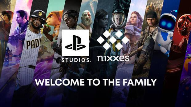 Welcome image of Nixxes to PlayStation Studios.