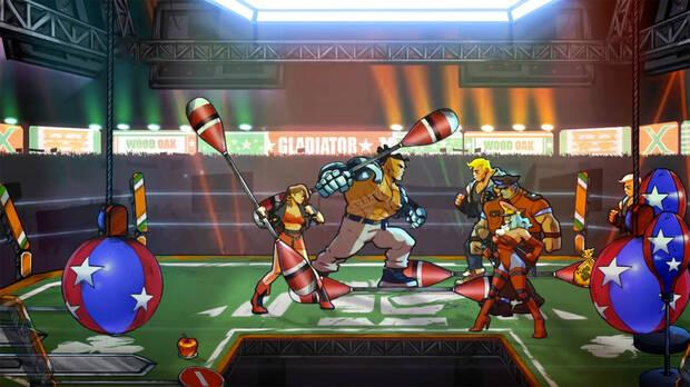 Capture of Mr.  X Nightmare, the first DLC for Streets of Rage 4.