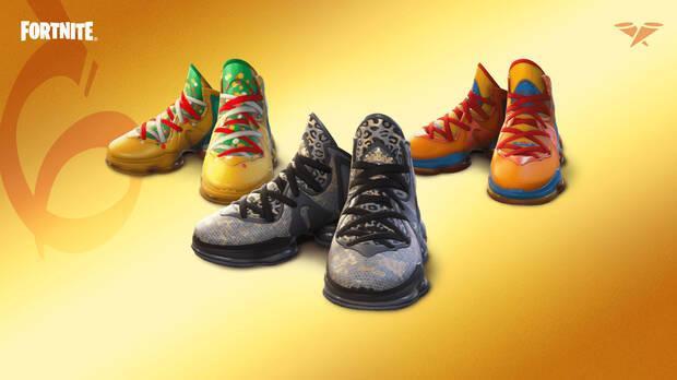 Fortnite LeBron James sneakers