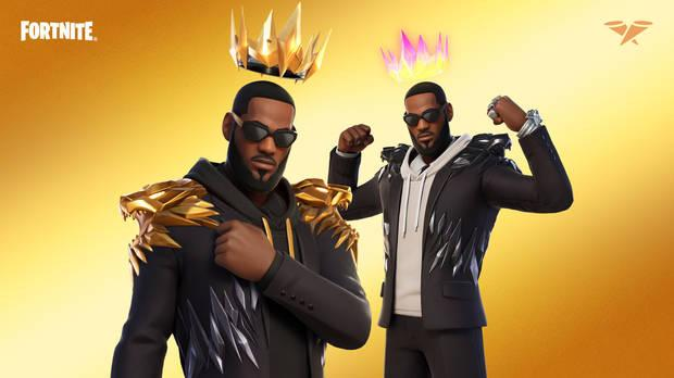 Fortnite The King James Suit