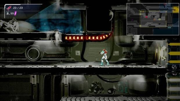 Metroid Dread mapa