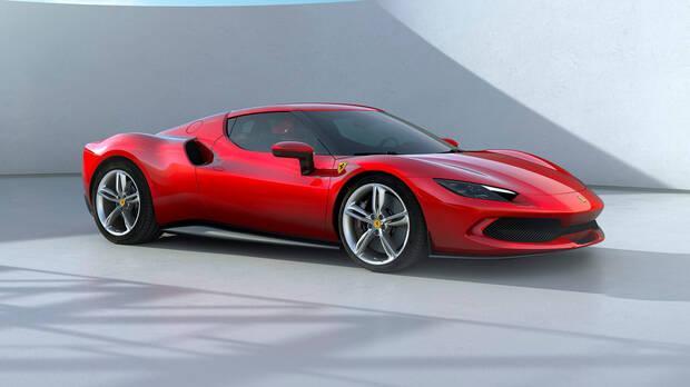 Ferrari 296 GTB and Fortnite