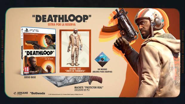 Bonus por reservar Deathloop en PS5.
