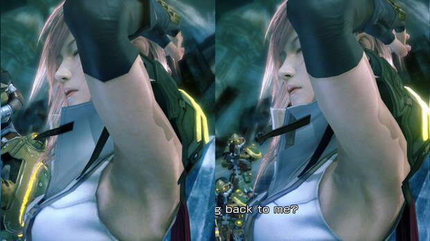 FFXIII Lighting modeling improved with mods on PC.