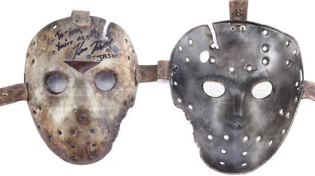 Máscara Jason delante y detrás