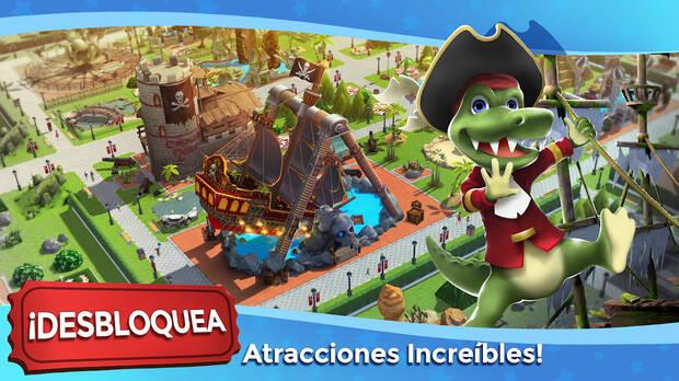RollerCoaster Tycoon Touch, one of the successful games of m