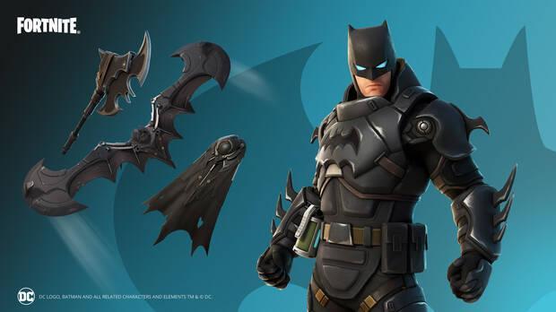 Armored Zero Batman Skin: all content