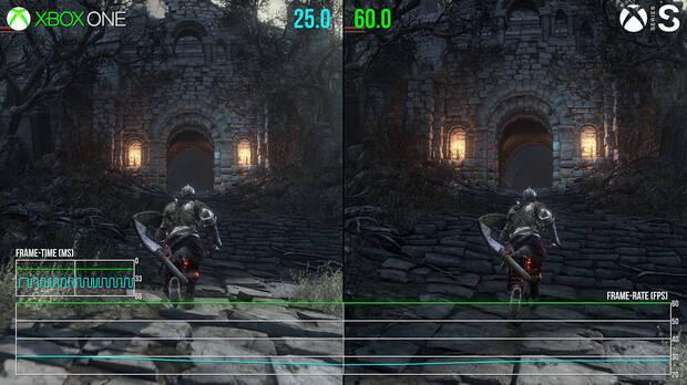 Dark Souls 3 Xbox One vs Xbox Series