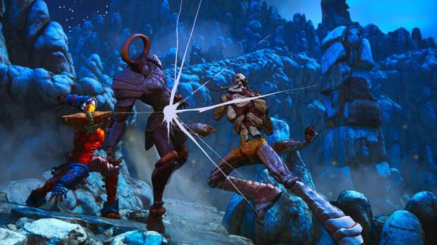 Clash: Artifacts of Chaos has an original fighting system