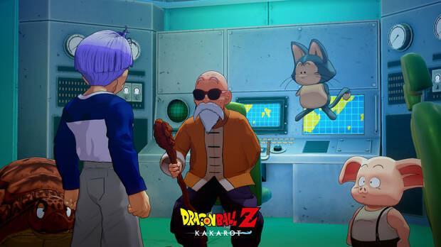 Dragon bAll Z Kakarot Trunks additional content