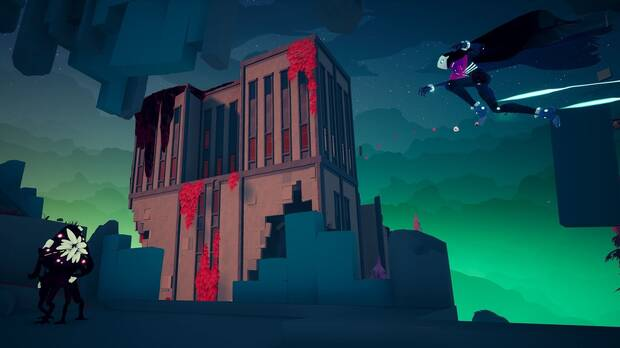 Solar Ash, from the creators of Hyper Light Drifter, shows off his gameplay