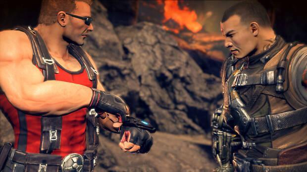 Duke Nukem en Bulletstorm: Duke of Switch.