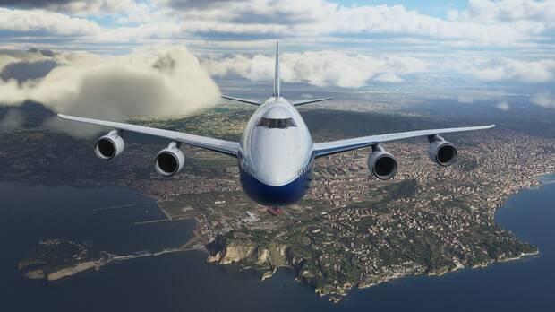Captura de Microsoft Flight Simulator.