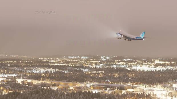 Captura de Microsoft Flight Simulator en PC.