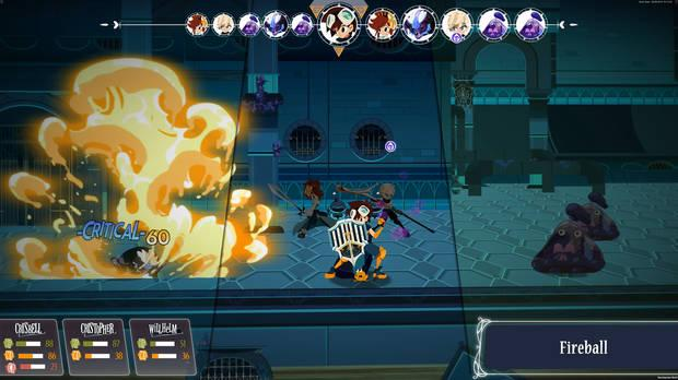 Cris Tales, the tribute to the JRPG, presents its characters in v