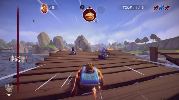 Garfield Kart: Furious Racing Imagen 1