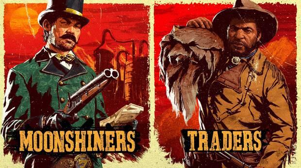 Red Dead Online: Bonificaciones para Comerciantes y Licoristas, ropa, recompensas y m