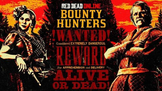Bounty Hunter Week dans Red Dead Online