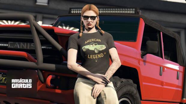GTA Online t-shirt and bonus