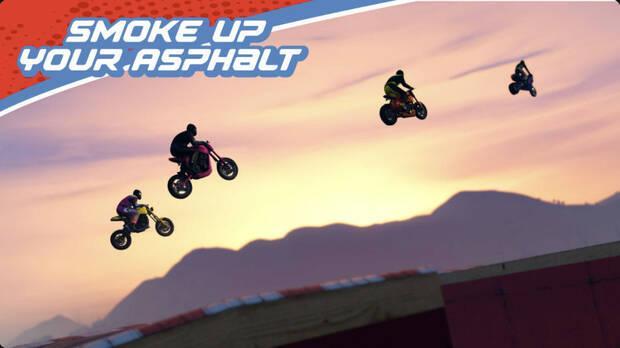 Smoked asphalt in GTA Online