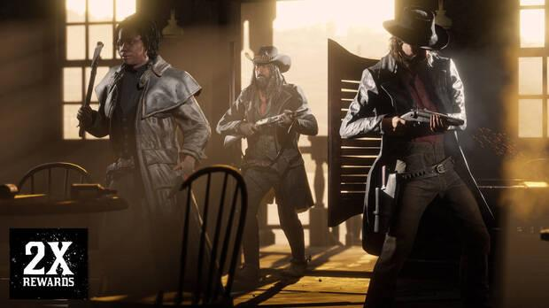Double the rewards in Red Dead Online