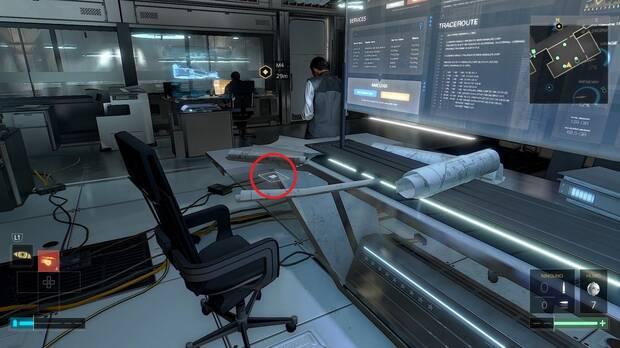 libro electrónico 3 Misión 4 Deus Ex: Mankind Divided