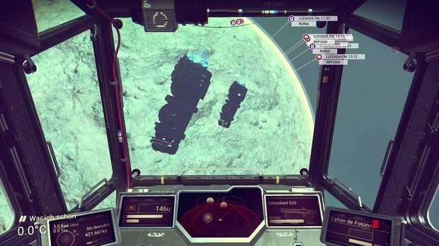Flotas espaciales No Man's Sky