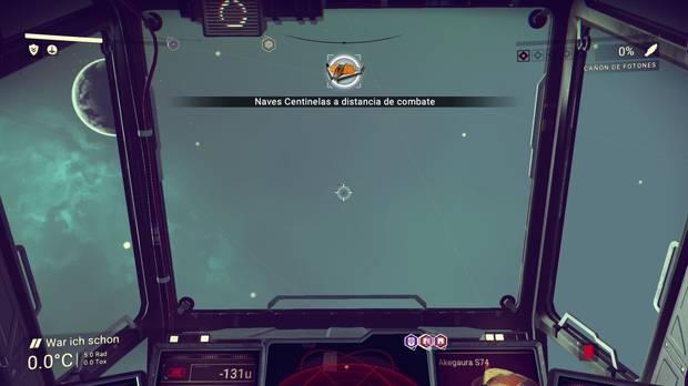 Vigilantes espaciales No Man's Sky