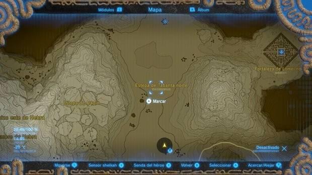 Encontrar el caballo esquelético en Zelda Breath of the Wild