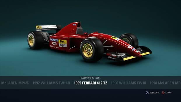 F1 2018 - Coches clásicos - Ferrari 412 T2 de 1995