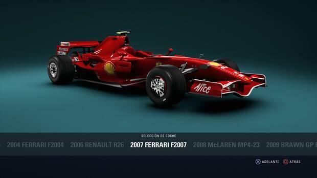 F1 2018 - Coches clásicos - Ferrari Ferrari F2007 de 2007