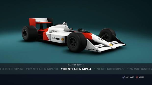 F1 2018 - Coches clásicos - Ferrari McLaren MP4/4 de 1988