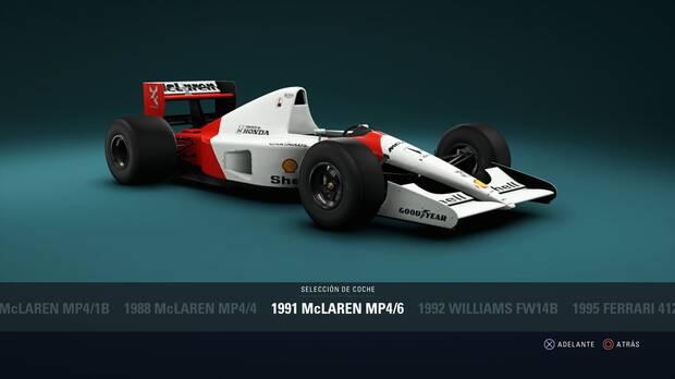 F1 2018 - Coches clásicos - McLaren MP4/6 de 1991