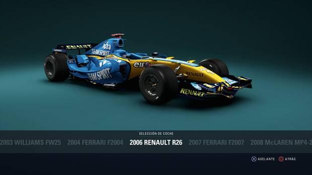 F1 2018 - Coches clásicos - Renault R26 de 2006
