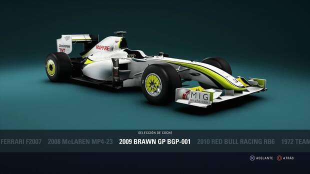F1 2018 - Coches clásicos - Brawn BGP-001 de 2009