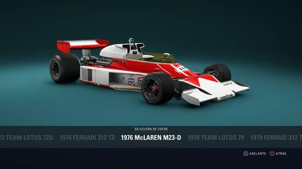 F1 2018 - Coches clásicos - McLaren M23D de 1976