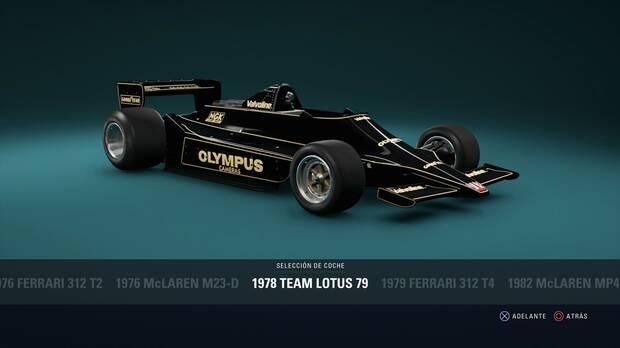 F1 2018 - Coches clásicos - Lotus 79 de 1978