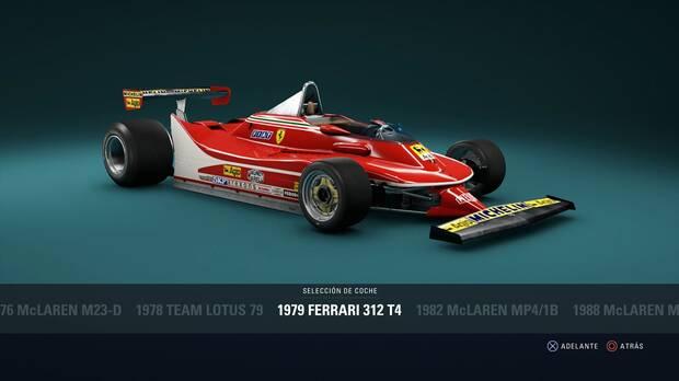 F1 2018 - Coches clásicos - Ferrari 312 T4 de 1979