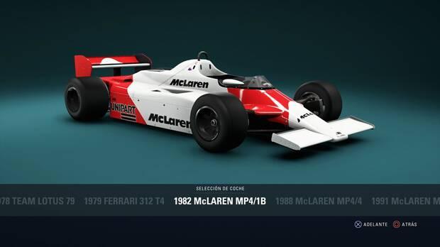 F1 2018 - Coches clásicos - McLaren MP4/1B de 1982