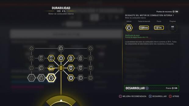 F1 2018 - Modo Carrera Profesional - Durabilidad