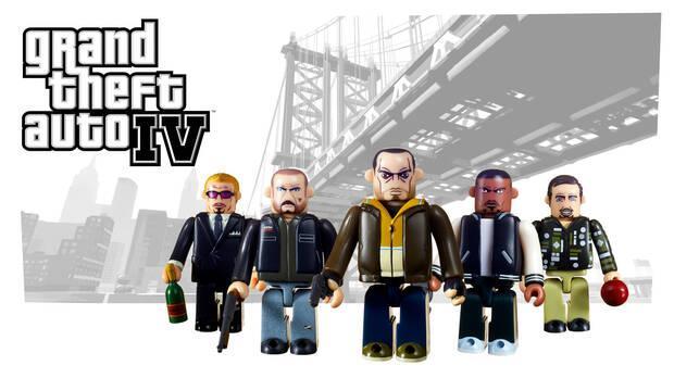 Grand Theft Auto estrenará nuevos set de figuras Kubrick el 14 de septiembre Imagen 2