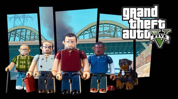 Grand Theft Auto estrenará nuevos set de figuras Kubrick el 14 de septiembre Imagen 3