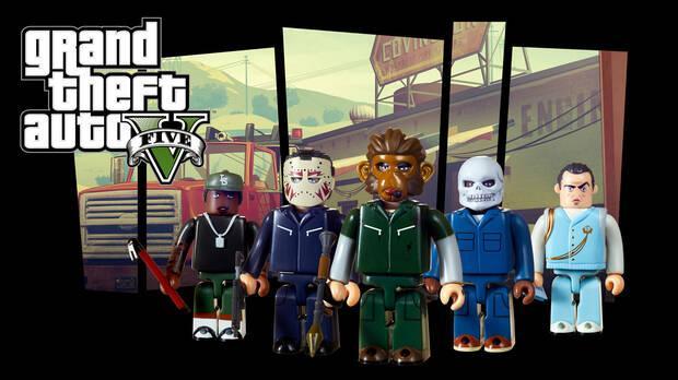 Grand Theft Auto estrenará nuevos set de figuras Kubrick el 14 de septiembre Imagen 4